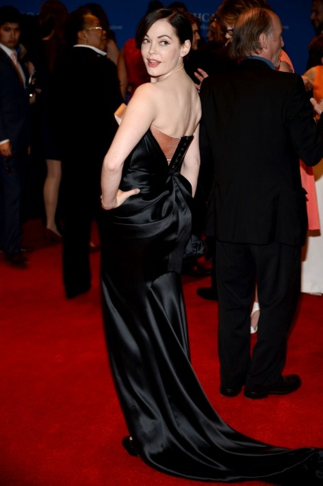 Rose Mcgowan At Th Annual White House Correspondents Association Dinner