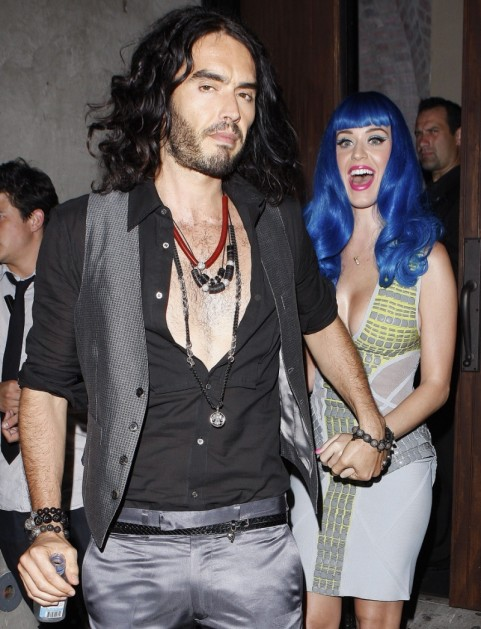 Katy Perry And Russell Brand And Katy Perry
