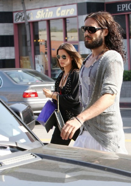 Russell Brand With New Girlfri