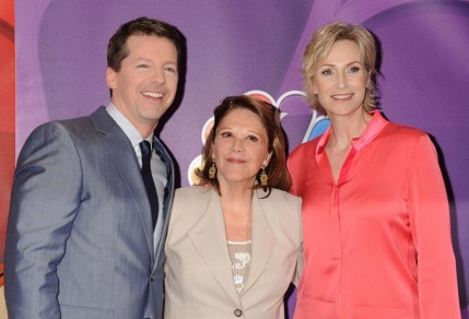 Linda Lavin Jane Lynch And Sean Hayes Large Picture Neil Patrick Harris