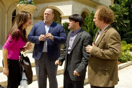 Still Of Sean Hayes Sof Ada Vergara Chris Diamantopoulos And Will Sasso In The Three Stooges Chris Diamantopoulos