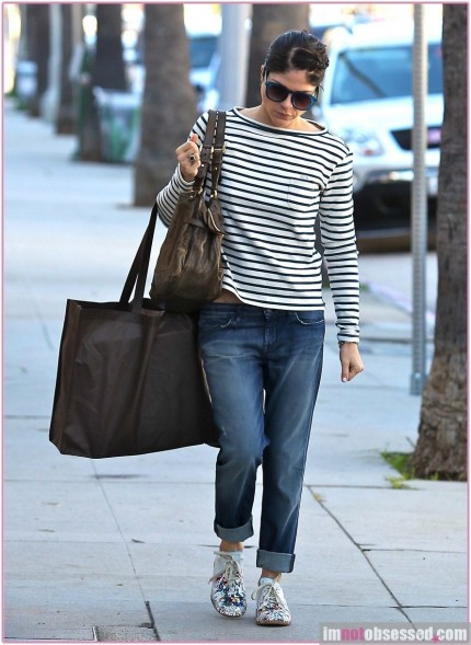 Selma Blair Out Shopping Legally Blonde