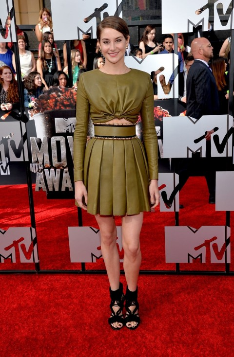 Shailene Woodley At Mtv Movie Awards In Los Angeles Movies