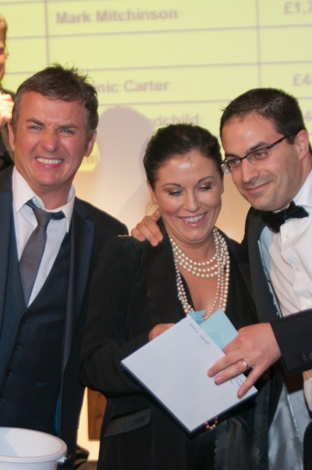 Shane Richie Jessie Wallace And Auction Guest
