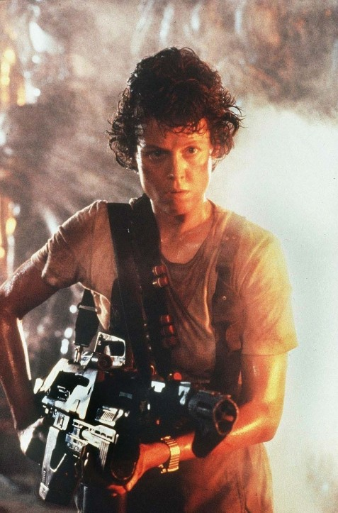Sigourney Weaver As Ripley In Aliens Alien Aliens Hot