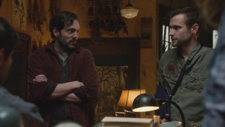 Neil Hopkins And Silas Weir Mitchell In Grimm Large Picture Grimm