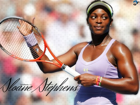 Sloane Stephens Desktop Wallpaper Normal Dress