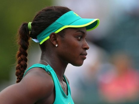 Sloane Stephens Desktop Widescreen Wallpaper