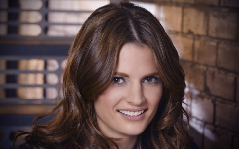 Beautiful Stana Katic Hd Wallpaper