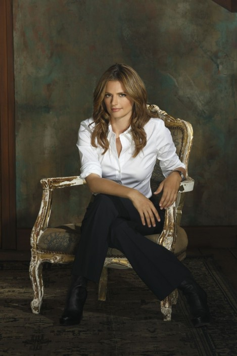 Stana Katic Castle Season Promo Pics Castle