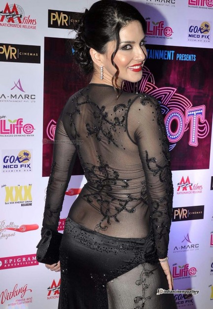 Sunny Leone At Jackpot Premiere  Photo Gallery Without Clothes