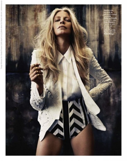 Tanga Moreau For Grazia France Th April Photo Sho