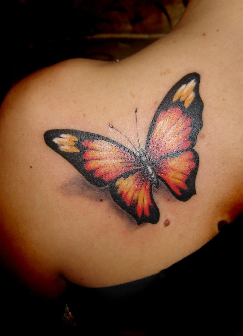 But Freedom Itself Is Another Meaning Of Butterfly Tattoo Design Eed For Men