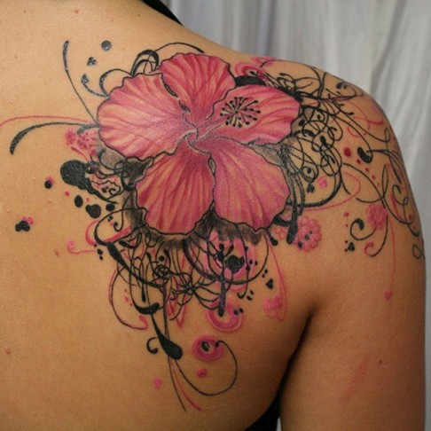 Flowers Chest Tattoo Designs For Women Cool Images Beautiful Tattoos For Women On For Women