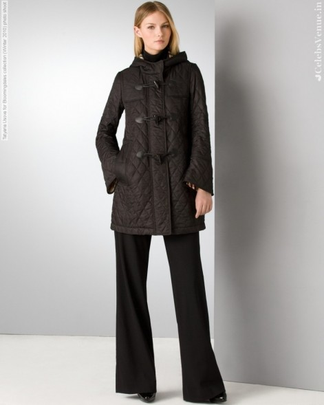 Tatyana Usova For Bloomingdales Collection Winter Photo Shoot