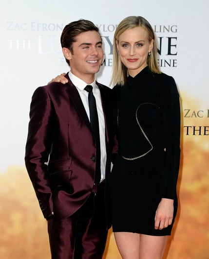 Zac Efron Taylor Schilling Walked Carpet Berlin Tattoo