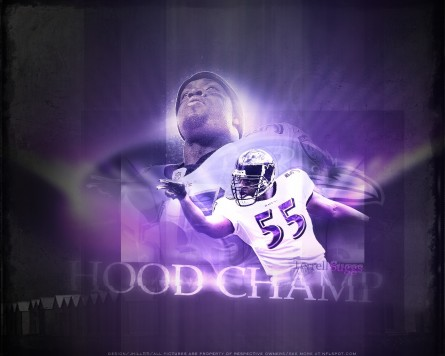 Hood Champ Terrell Suggs By Jhill Wallpaper Normal Wallpaper