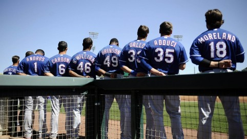 Texas Rangers Players Roster