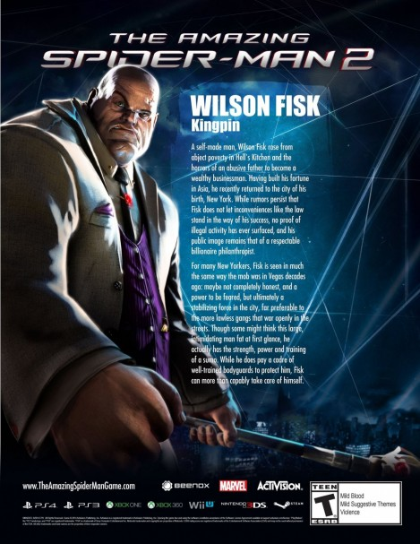 The Amazing Spider Man Video Game Kingpin