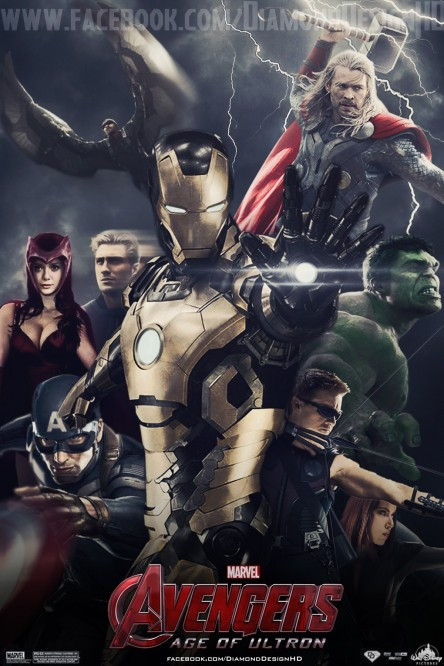Avengers Age Of Ultron Fan Made Poster The Avengers