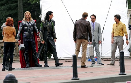 Theavengersonset Cast