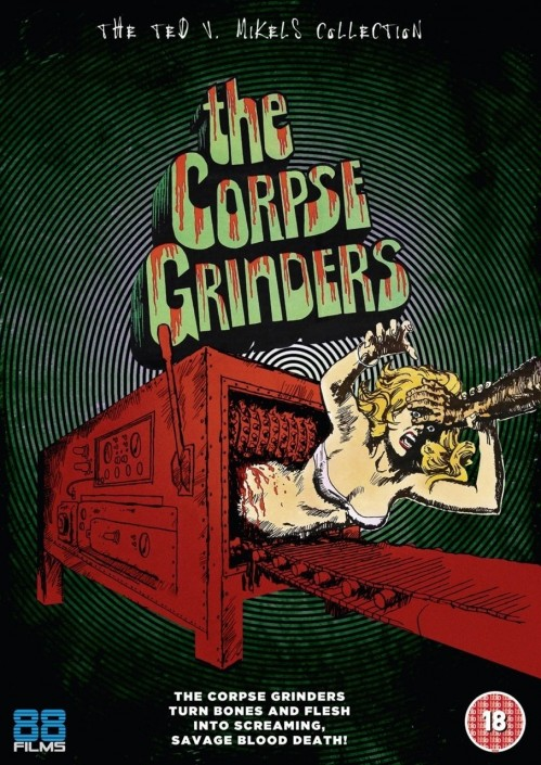 The Corpse Grinders Films Dvd Wallpaper