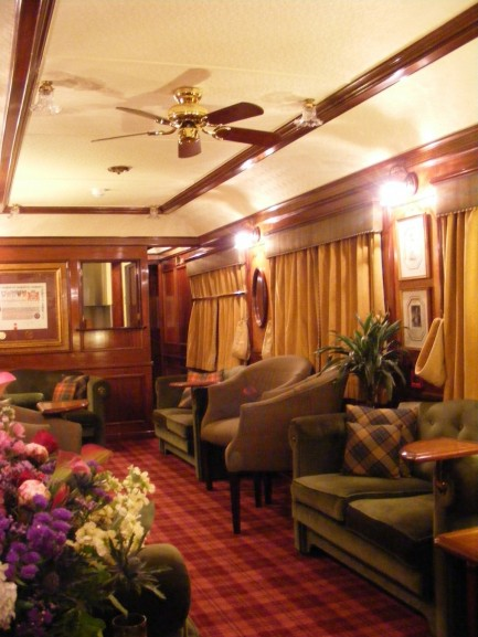 Observation Carriage Interior