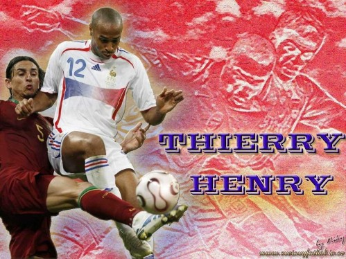 Soccer Graphics Thierry Henry