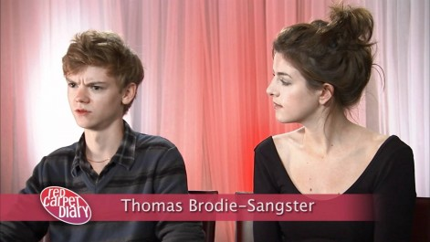 Thomas Sangster Shared Picture