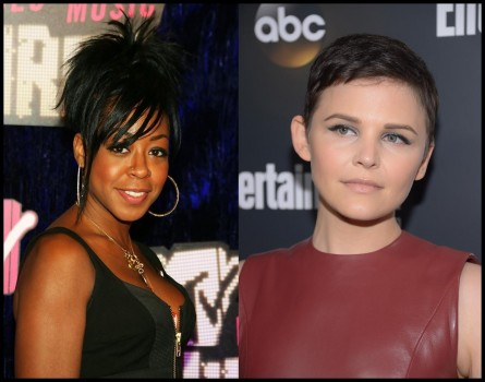 Tichina Arnold Spiked Hair Ginnifer Goodwin Pixie Movies