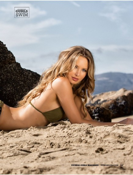 Tiffany Toth In Fitness Gurls Magazine July Issue