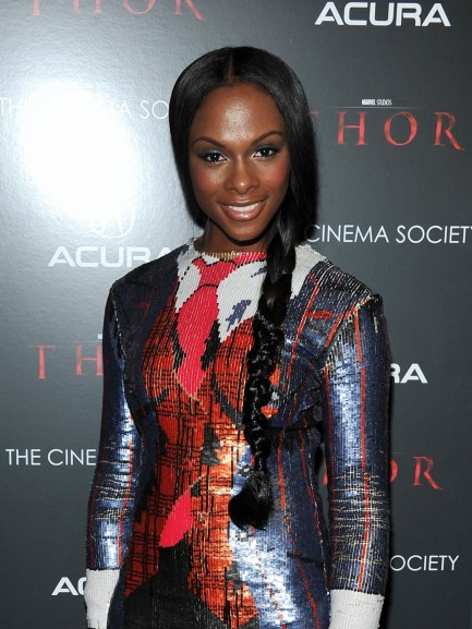 Tika Sumpter At Event Of Thor