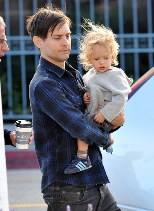 Tobey Maguire In Rag And Bone