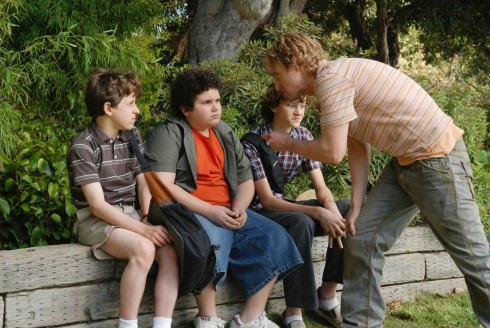 Still Of Owen Wilson Troy Gentile And Nate Hartley In Drillbit Taylor Large Picture