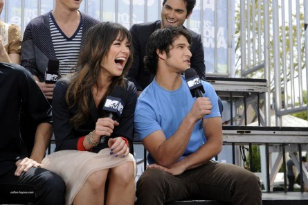 Teen Wolf Cast On Mtv The Seven Tyler Posey And Crystal Reed Teen Wolf Cast