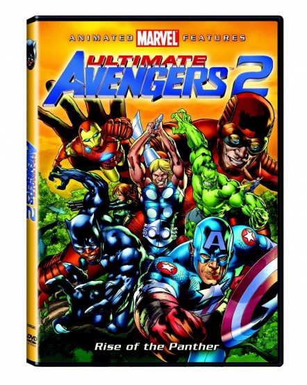 Ultimate Avengers Rise Of The Panther Dvd Boxart Movie