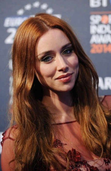 Una Healy At Bt Sport Industry Awards In London