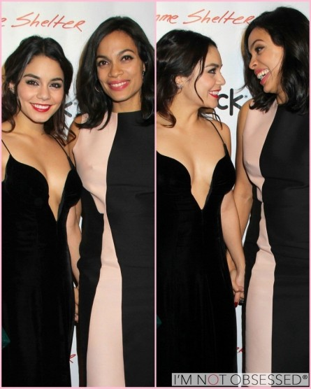 Vanessa Hudgens Rosario Dawson At Gimme Shelter Premiere Movies