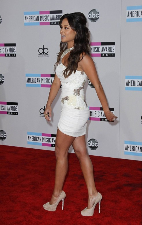 Vanessa Minnillo At Th Annual American Music Awards In Los Angeles