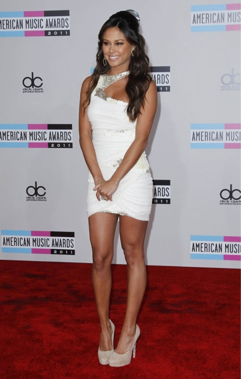 Vanessa Minnillo At Th Annual American Music Awards In Los Angeles Bikini