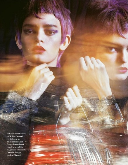 Wanessa Milhomem And Eve Weber By Marco La Conte For Io Donna Th September