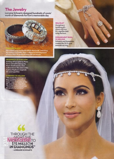 Kim Kardashian People Magazine Wedding Edition Hq Scans Kim Kardashian Kim Kardashian