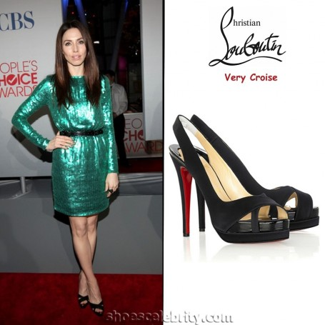 Whitney Cummings Christian Louboutin Very Croise Pumps