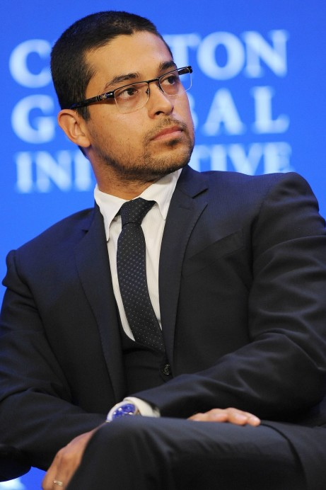 Wilmer Valderrama Also Attended Clinton Global Initiative New