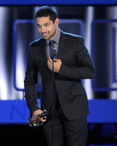 Wilmer Valderrama Smiled He Accepted His Alma Award
