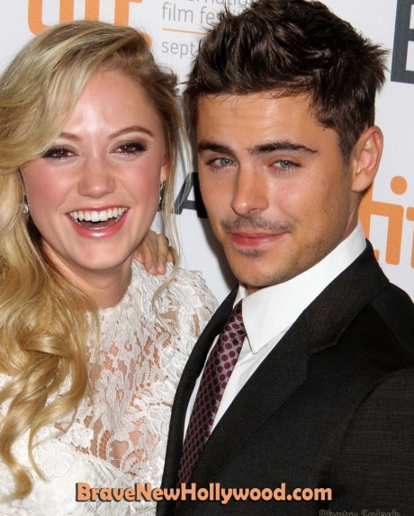 Zac Efron Maika Monroe Tiff Red Carpet Girlfriend