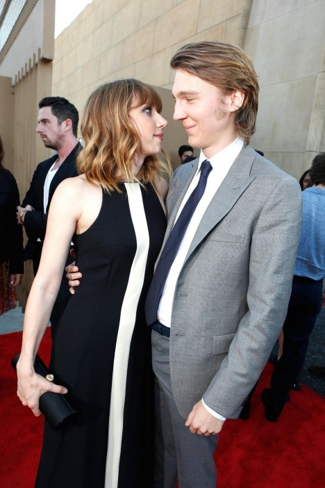 Paul Dano And Zoe Kazan At Event Of Ruby Sparks