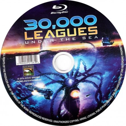 Leagues Under The Sea Bluray Cd Movie