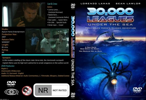 Leagues Under The Sea Cover Movie