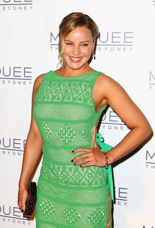 Abbie Cornish At The Stars Marquee Nightclub Opening In Sydney Esquire